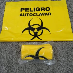 Bolse Amarilla desechos Biológicos